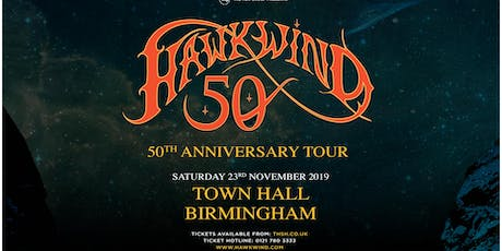 Hawkwind - 50th Anniversary (Town Hall, Birmingham) tickets