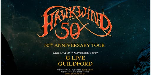Hawkwind - 50th Anniversary (G Live, Guildford)