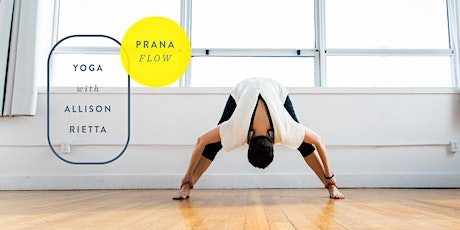 Prana Flow - Saturday Mornings 10:15-11:15am tickets