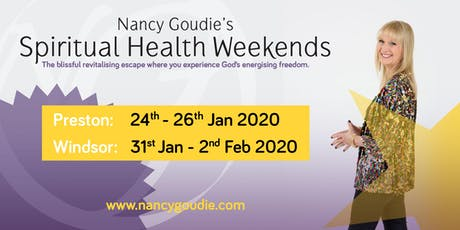 Nancy Goudie's Spiritual Health Weekend 2020 Windsor tickets