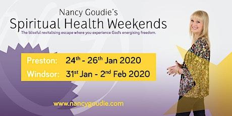Nancy Goudie's Spiritual Health Weekend 2020 Windsor tickets
