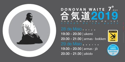 Aikido Donovan Waite Sensei - São Paulo 2019