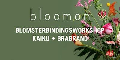 bloomon blomsterbindings-workshop 15. maj | Brabrand, KAiKU