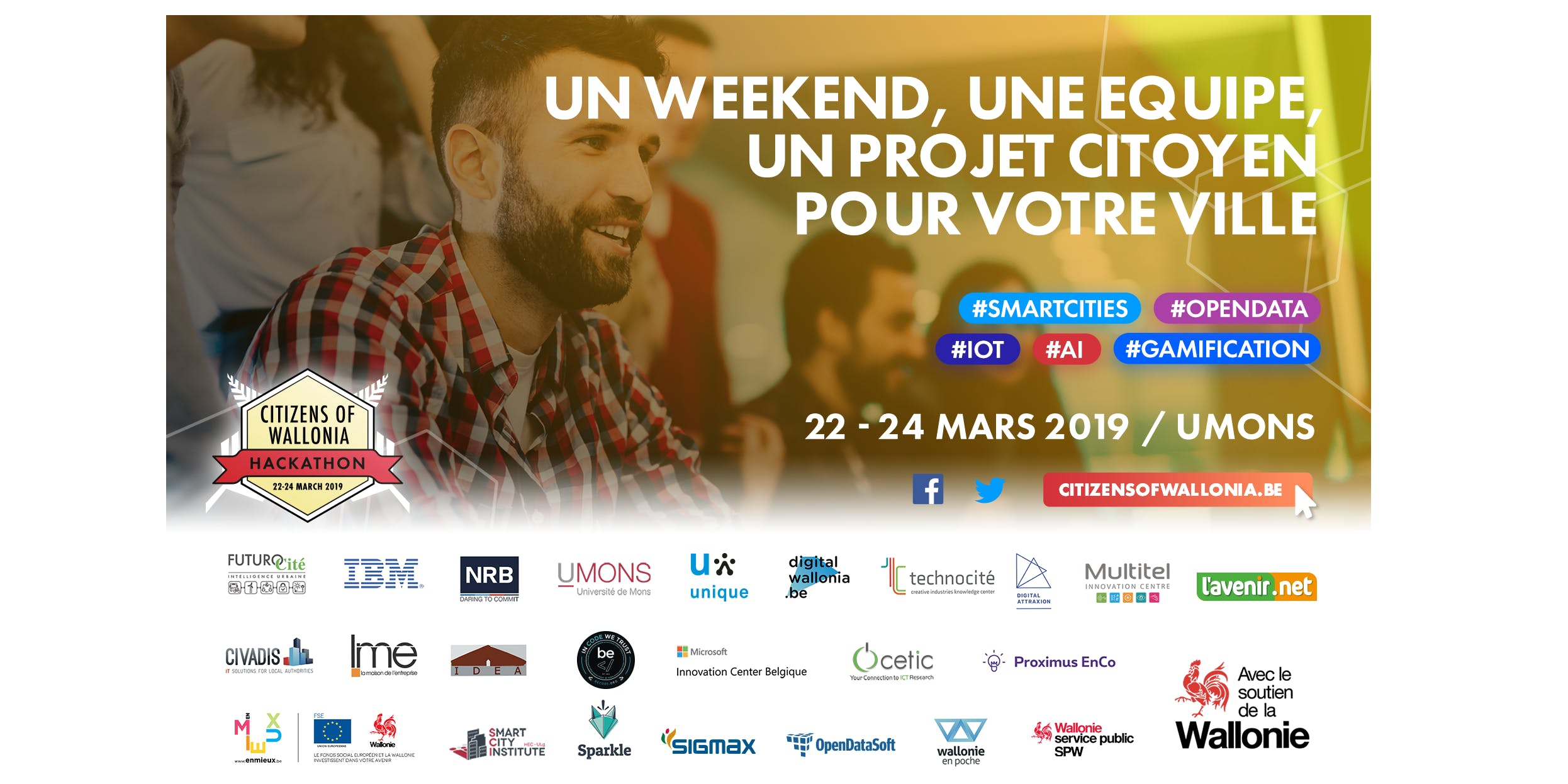 Hackathon Citizens of Wallonia 2019