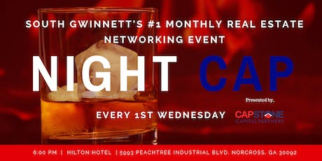 NIGHTCAP #1 Monthly Real Estate Networking Meetup  tickets