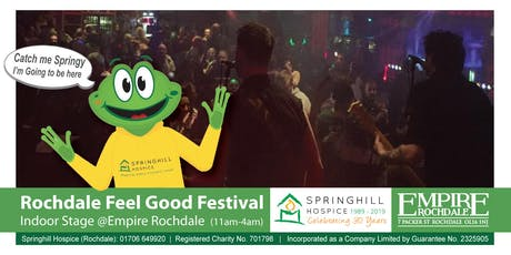Rochdale Feel Good Festival – Indoor Stage @Empire Rochdale tickets