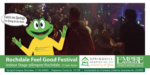 Rochdale Feel Good Festival – Indoor Stage @Empire Rochdale
