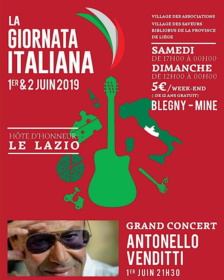Image pour 15e édition de la Giornata Italiana / 1er et 2 juin 2019
