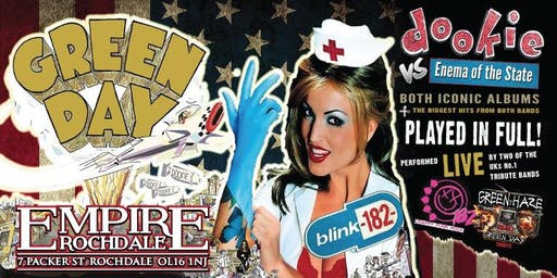 Green Haze + One Eighty Two / Dookie vs Enema of The State