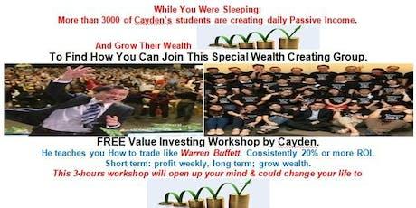 FREE:  Value Investing Seminar tickets