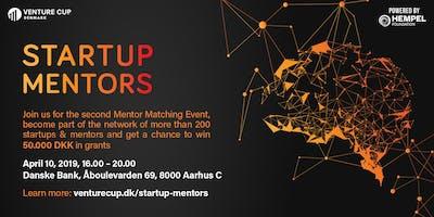 STARTUP MENTORS: Matching Event - Batch 2 / Aarhus