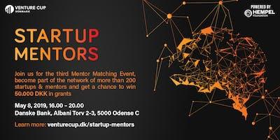 STARTUP MENTORS: Matching Event - Batch 3 / Odense