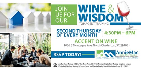 Wine and Wisdom Top Agent Training Series tickets
