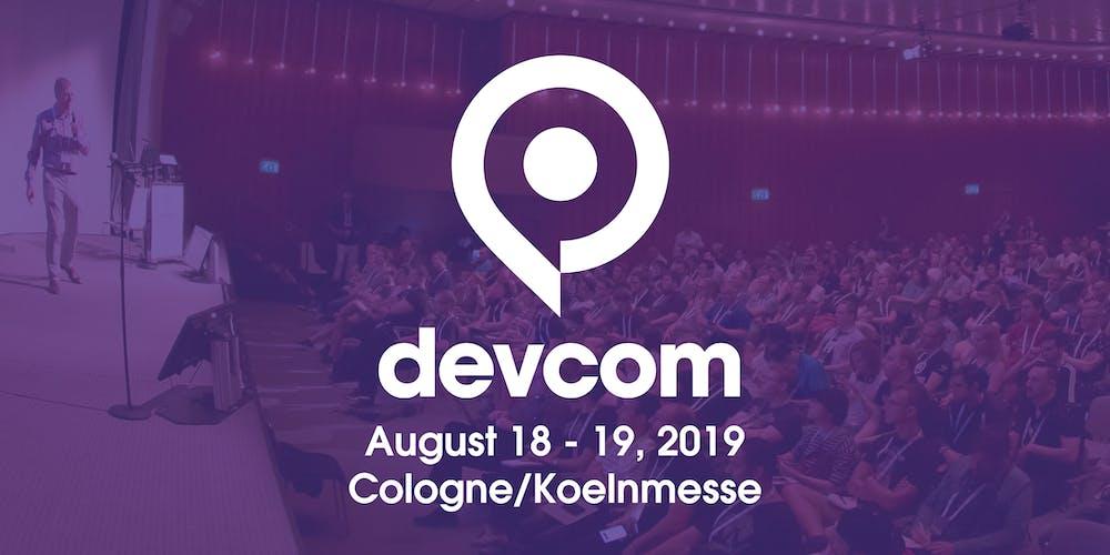 Image result for devcom 2019