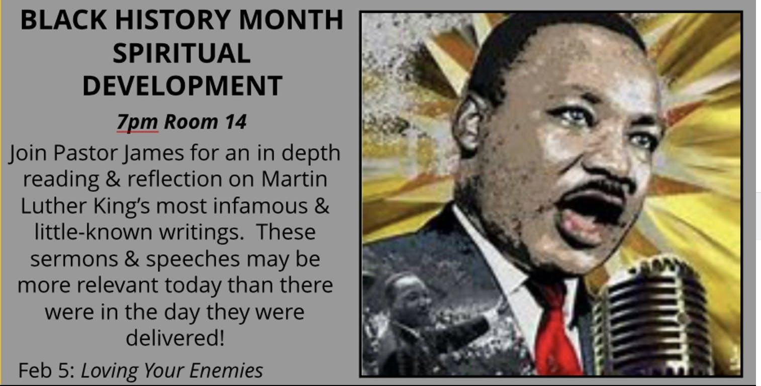 Black History Month Spiritual Development