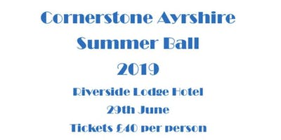 Cornerstone Ayrshire Summer Ball