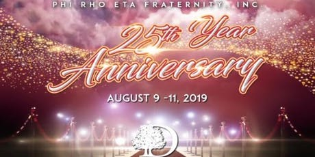 Phi Rho Eta Fraternity Inc. 25th Anniversary - Maroon and Old Gold Affair tickets