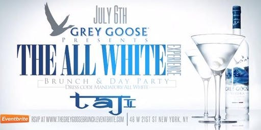 Grey Goose Presents The All White Experience, Brunch & Day Party
