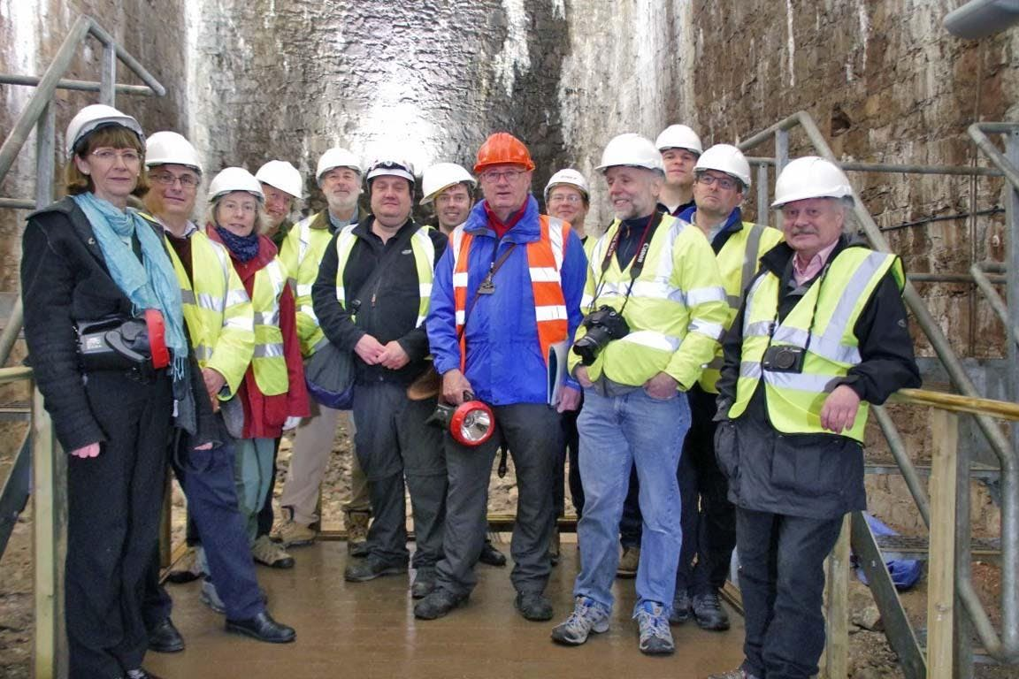 Leigh Woods Vaults: Two Hour Historical Hard Hat Tour. Meet at the Clifton Toll Booth BS8 3NA