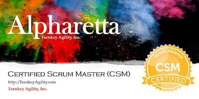 Certified ScrumMaster® (CSM) - Alpharetta, GA - Aug 14-15, 2019