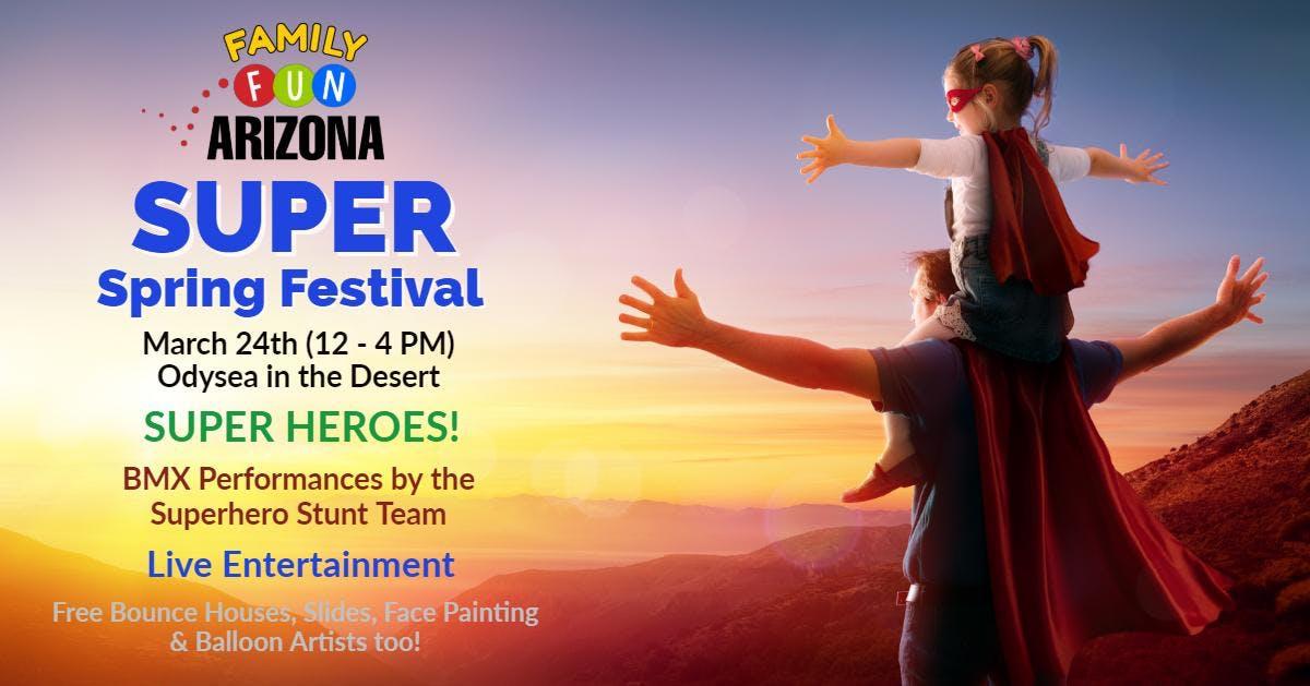 Annual Family Fun SUPER Spring Festival