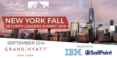 Executive Alliance's Security Leaders Summit NEW YORK FALL 2019