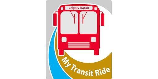 My Transit Ride - July 25, 2019
