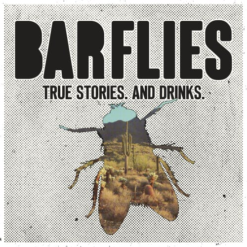BAR FLIES: A MONTHLY READING SERIES banner
