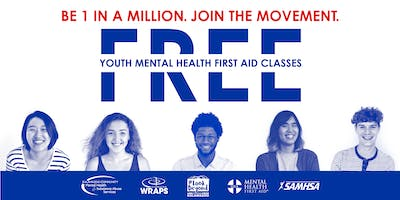 YOUTH Mental Health First Aid: July 19 at KCMHSAS