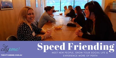 Speed Friending (20s&30s)