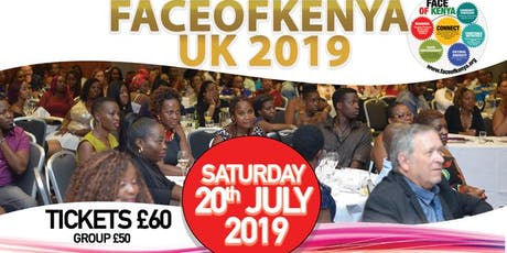 Face of Kenya UK 2019 Dinner Gala and Awards tickets