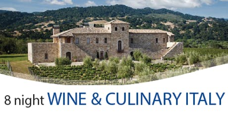 Follow the Fun with Rocky Italy Wine & Culinary Tour billets