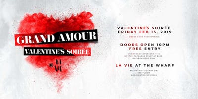 'Grand Amour' - A Valentine Soiree of Class and Sophistication