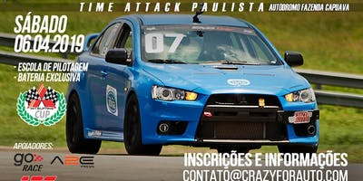 TRACK DAY/TIME ATTACK PAULISTA & MITSUFANS CUP COM CURSO PILOTAGEM OPCIONAL - FAZENDA CAPUAVA