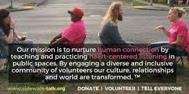 Sidewalk Talk SLC: A Community Listening Event