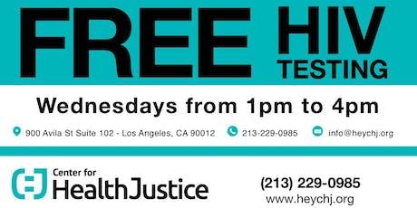 Free HIV Testing! tickets