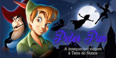 DESCONTO! Espetáculo Infantil Peter Pan no Teatro BTC
