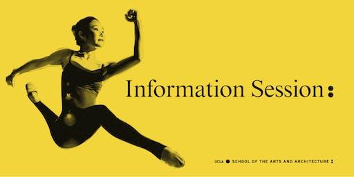UCLA Arts Prospective Student Information Session - 9/13