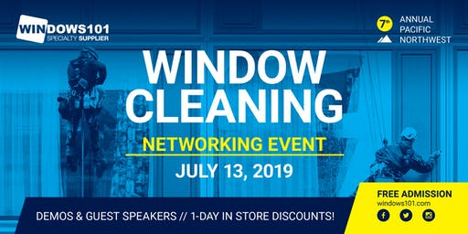 2019 Window Cleaning Networking Event