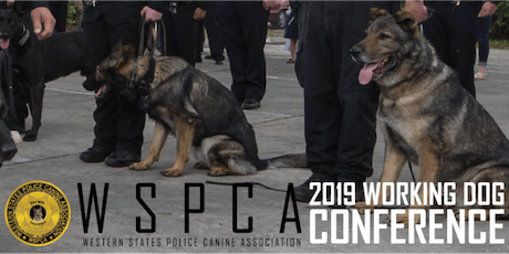 2019 WSPCA Working Dog Conference tickets