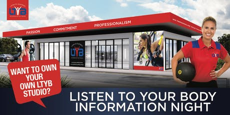 Listen To Your Body Franchise Information Evening tickets