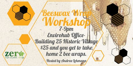 Beeswax Wrap Workshop tickets