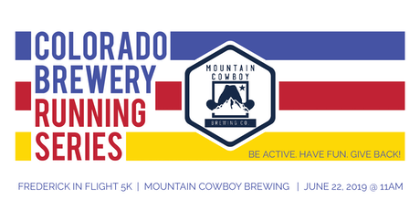 Frederick in Flight 5k - Mountain Cowboy Brewing - Colorado Brewery Running Series tickets