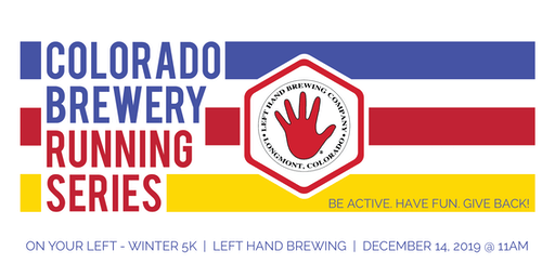 On Your Left Winter 5k - Left Hand Brewing - Colorado Brewery Running Series