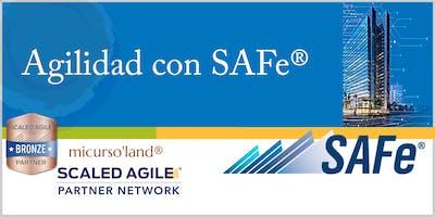Diplomado en Gestión de Entornos Ágiles Empresariales SAFe®, con 5 Certificaciones Internacionales