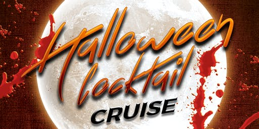 Haunted Halloween Booze Cruise on Friday Evening November 1st