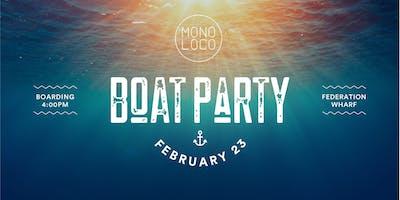 Mono Loco  - Boat Party