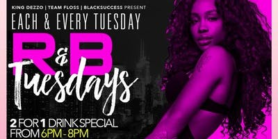 R&B TUESDAYS ROOFTOP PARTY EACH & EVERY TUESDAY (F