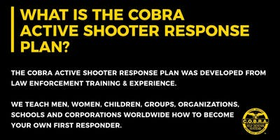 C.O.B.R.A. Active Shooter Response Plan #10