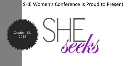 SHE Seeks Women's Conference tickets